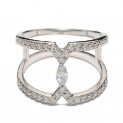 Женские серебряные кольца