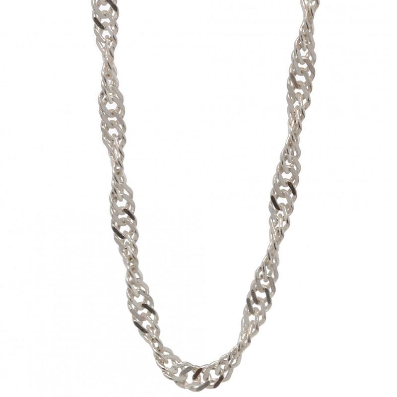 Женские серебряные цепочки