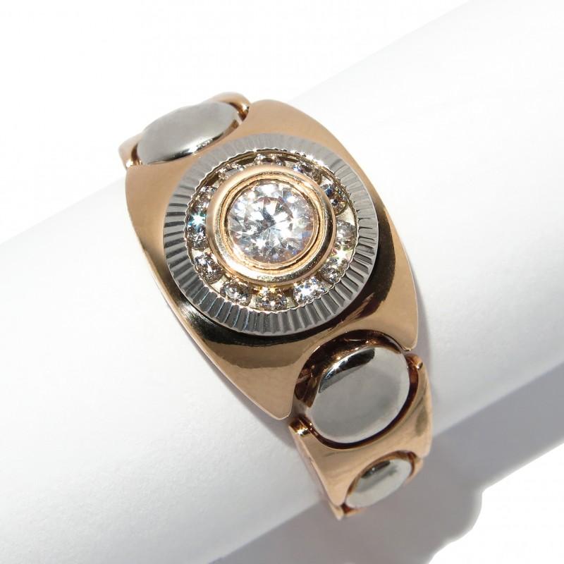 Мужские кольца из золота и серебра