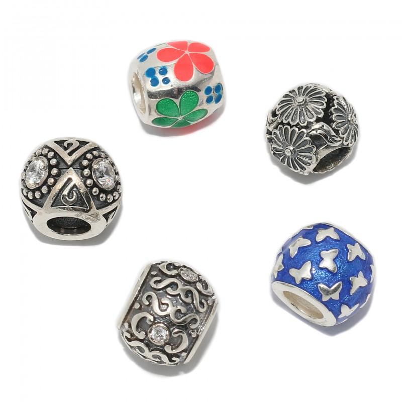Серебряные шармы для Pandora