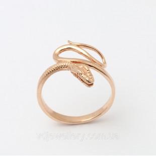 """Золотое кольцо """"Змея"""" 2200182"""
