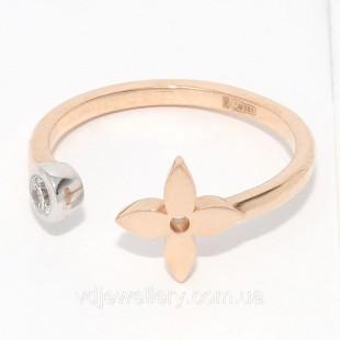 Золотое кольцо Louis Vuitton НХК-23