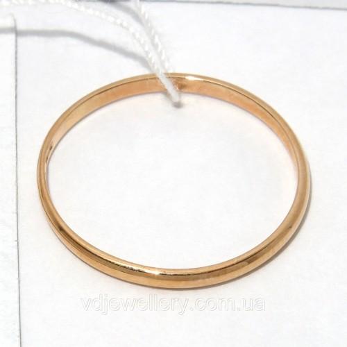 Золотое обручальное кольцо ХОК-10