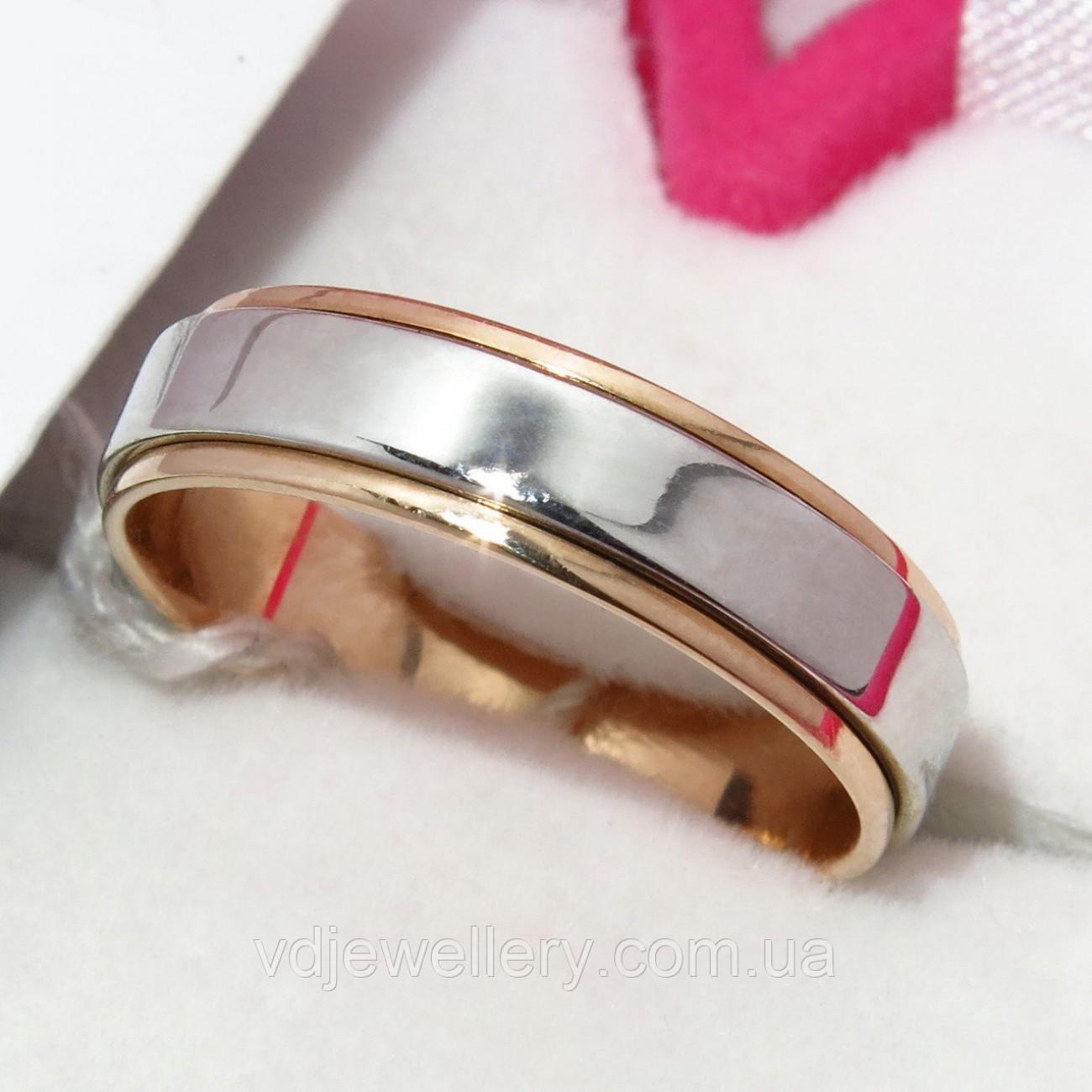 Золотое обручальное кольцо ХОК-15