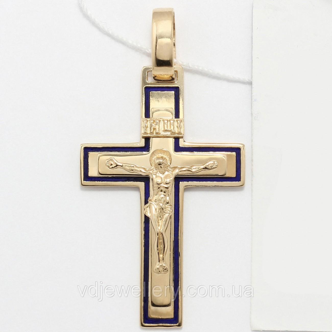 Золотой крестик ХЗК-11