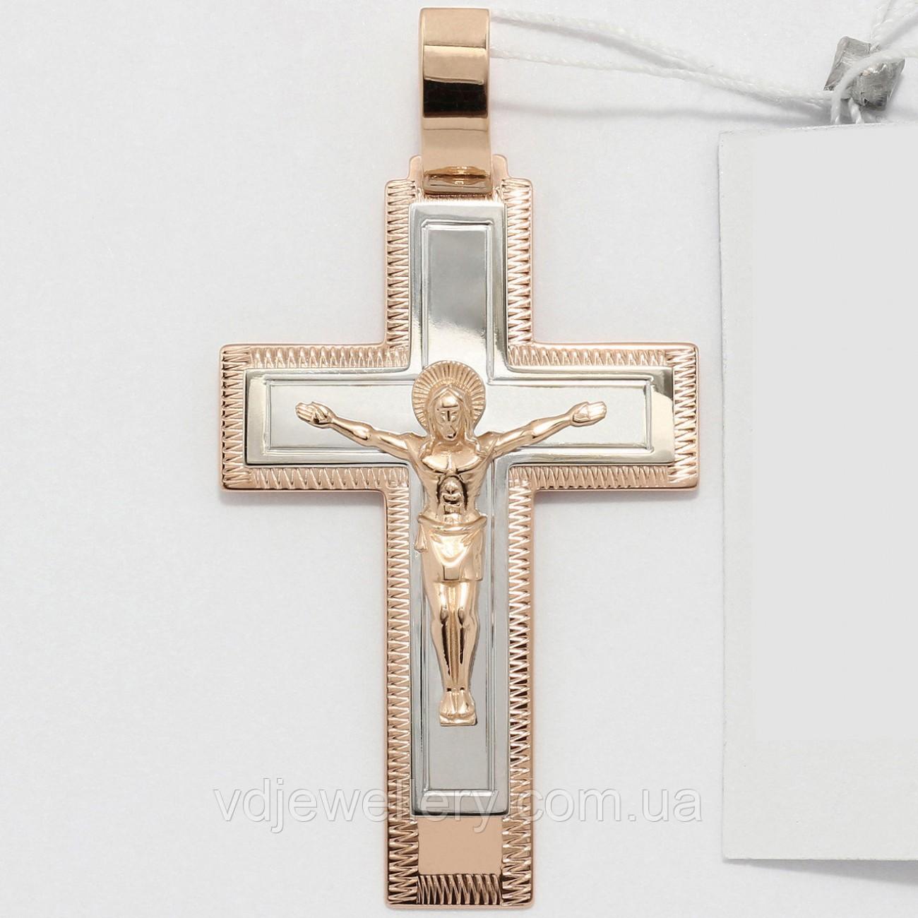 Золотой крестик ХЗК-10