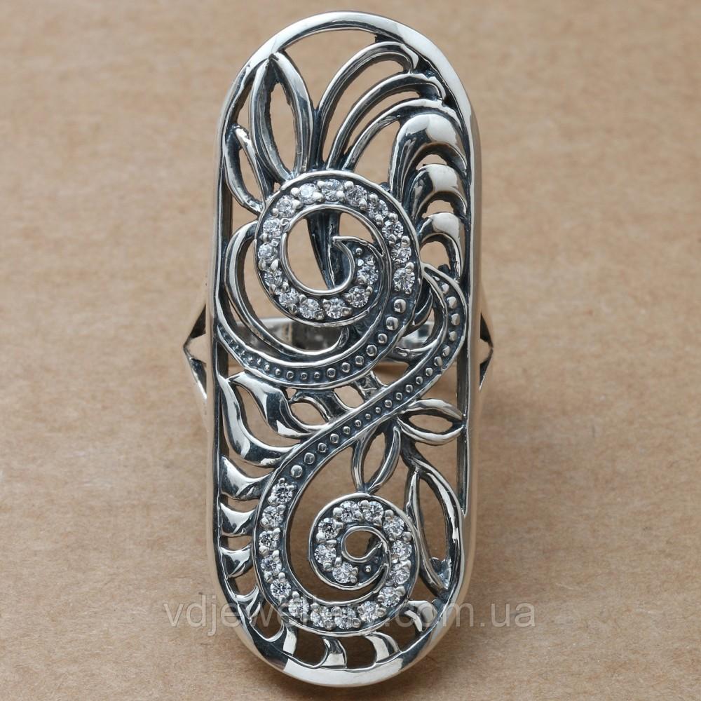 Серебряное кольцо 17КЮ