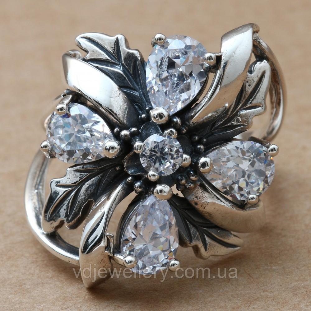 Серебряное кольцо 45КЮ