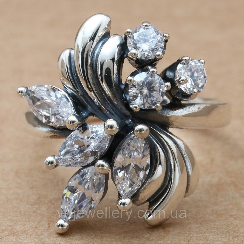 Серебряное кольцо 396КЮ