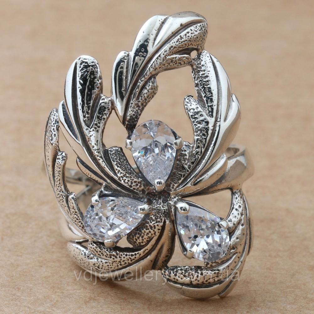Серебряное кольцо 26КЮ