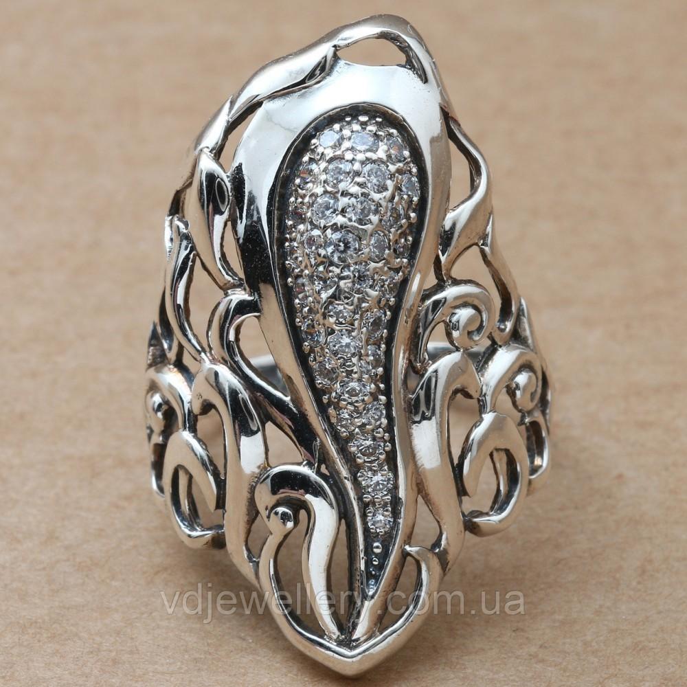 Серебряное кольцо 47КЮ