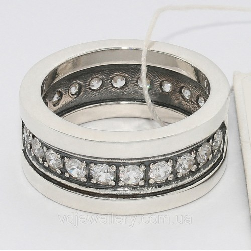 Серебряное кольцо 79КЮ