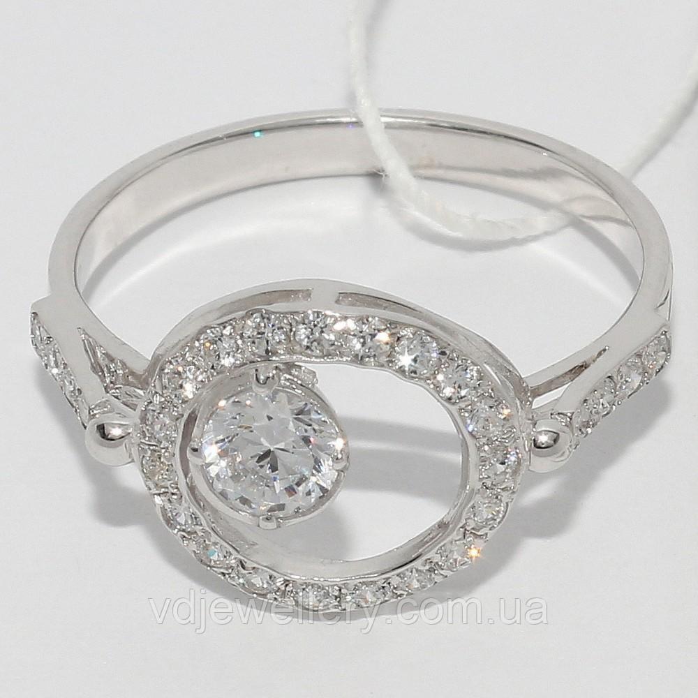 Серебряное кольцо 104КЮ