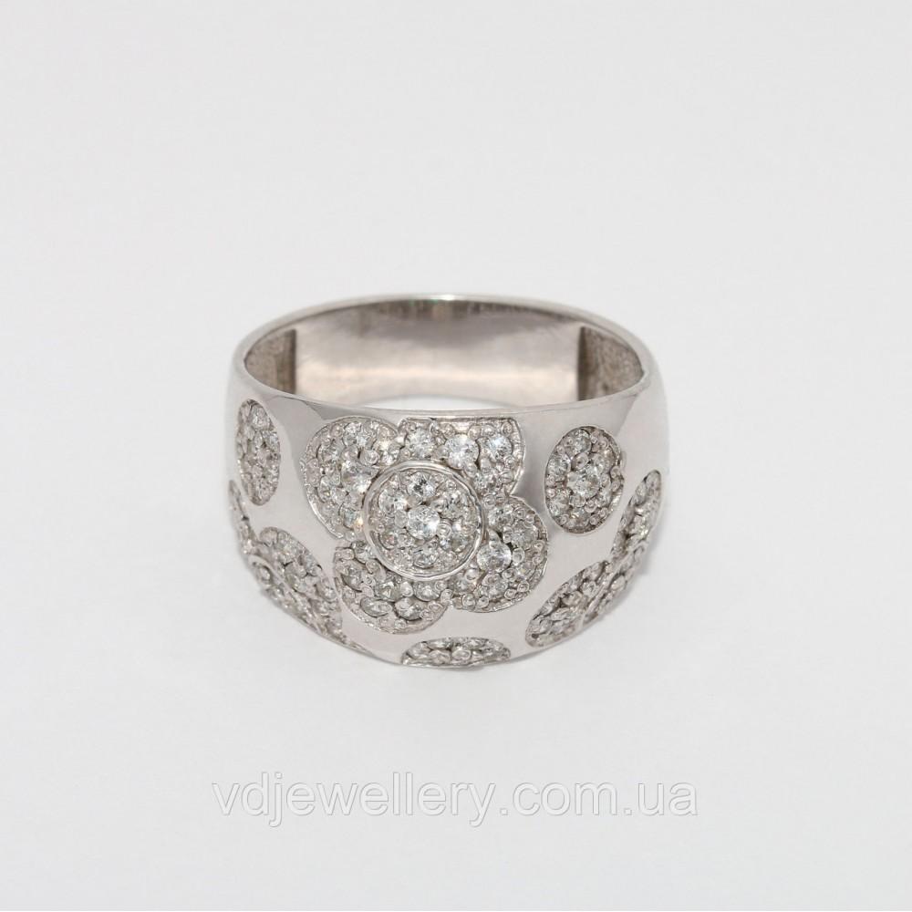 Серебряное кольцо 144КЮ