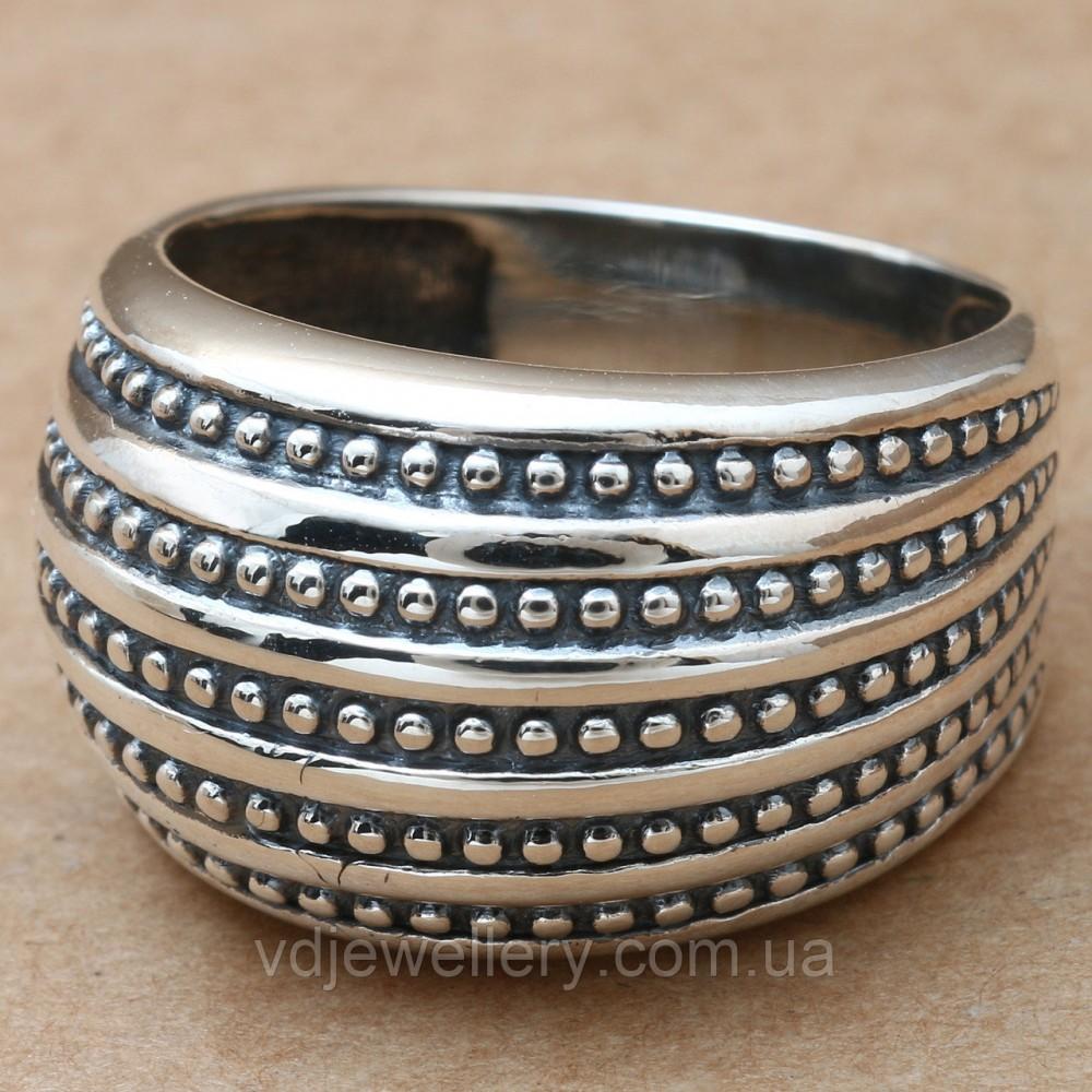 Серебряное кольцо 68КЮ