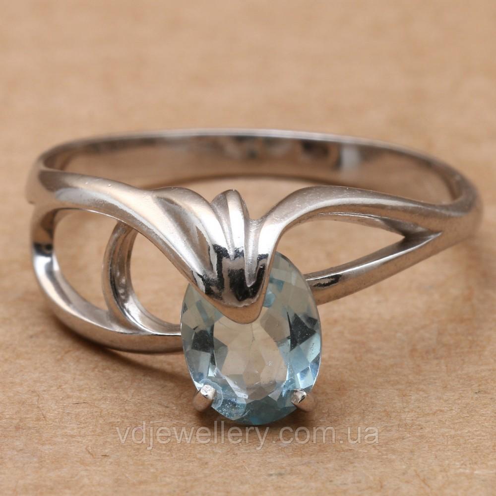 Серебряное кольцо с топазом КЖХ-127