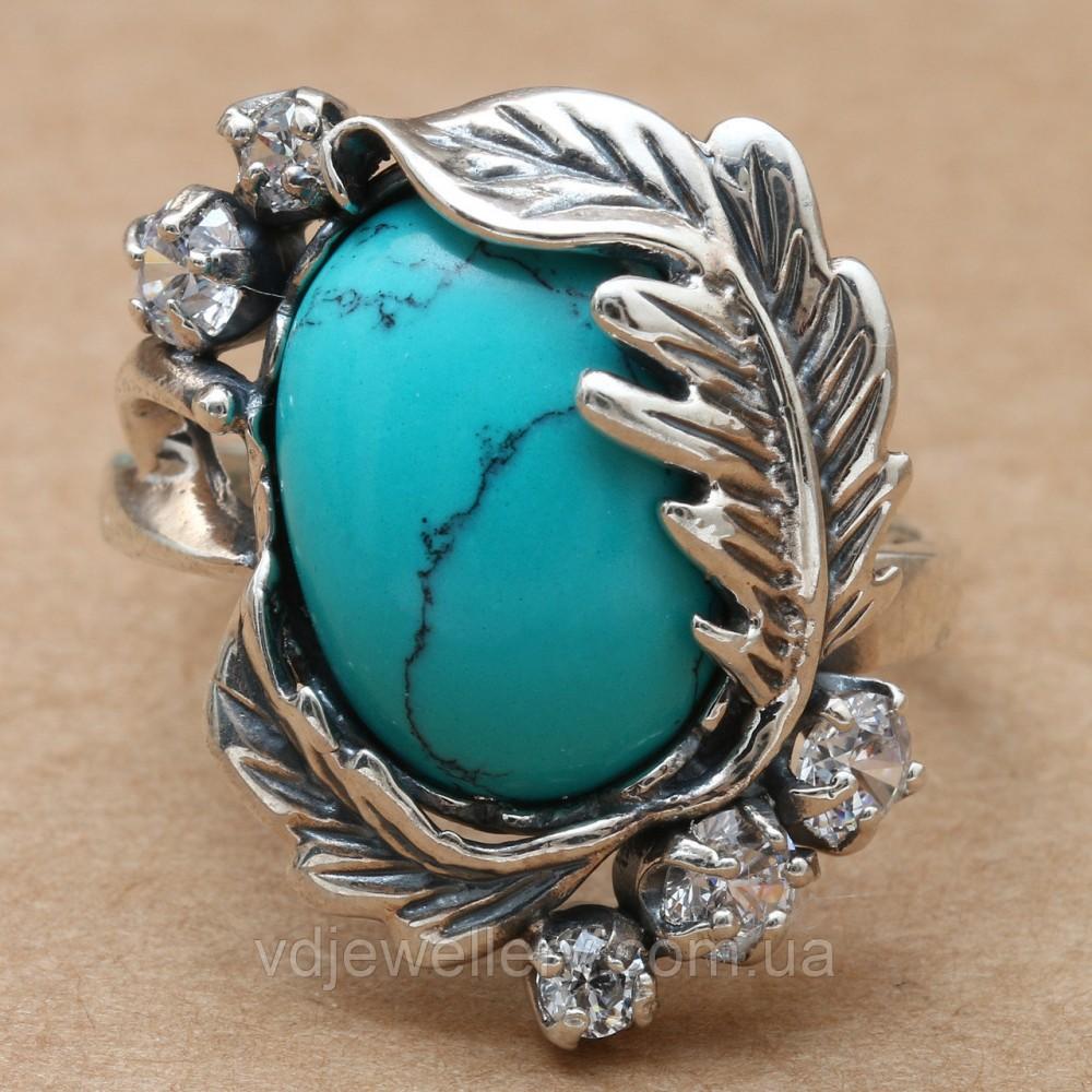 Серебряное кольцо 64КЮ