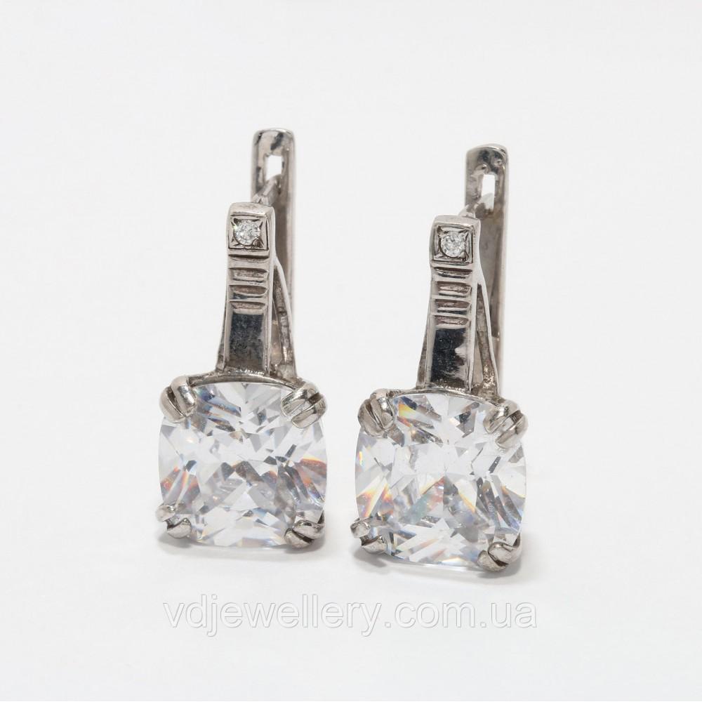 Серебряные серьги 115КН
