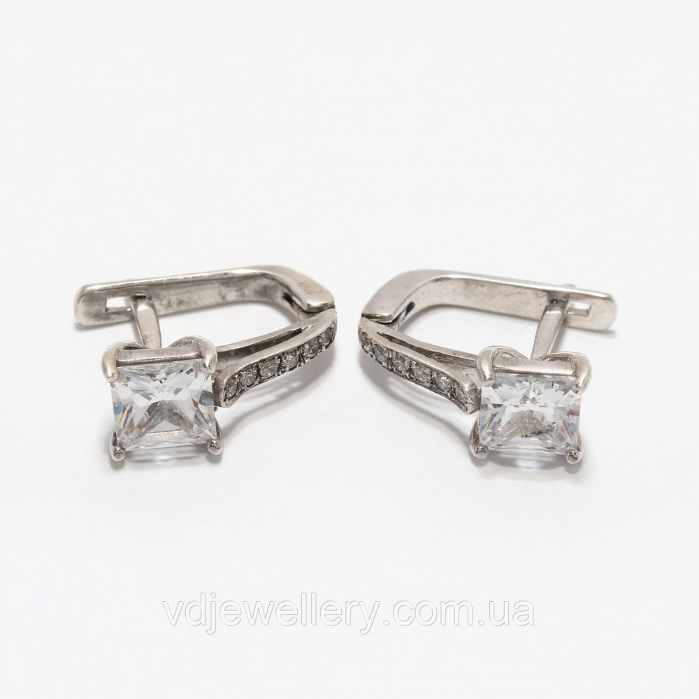 Серебряные серьги 95КН