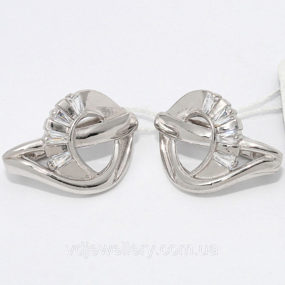 Серебряные серьги СЖХ-43