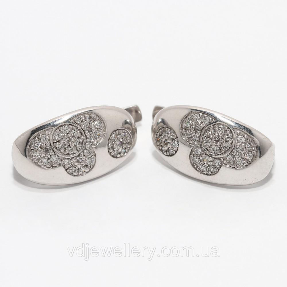 Серебряные серьги 98КН