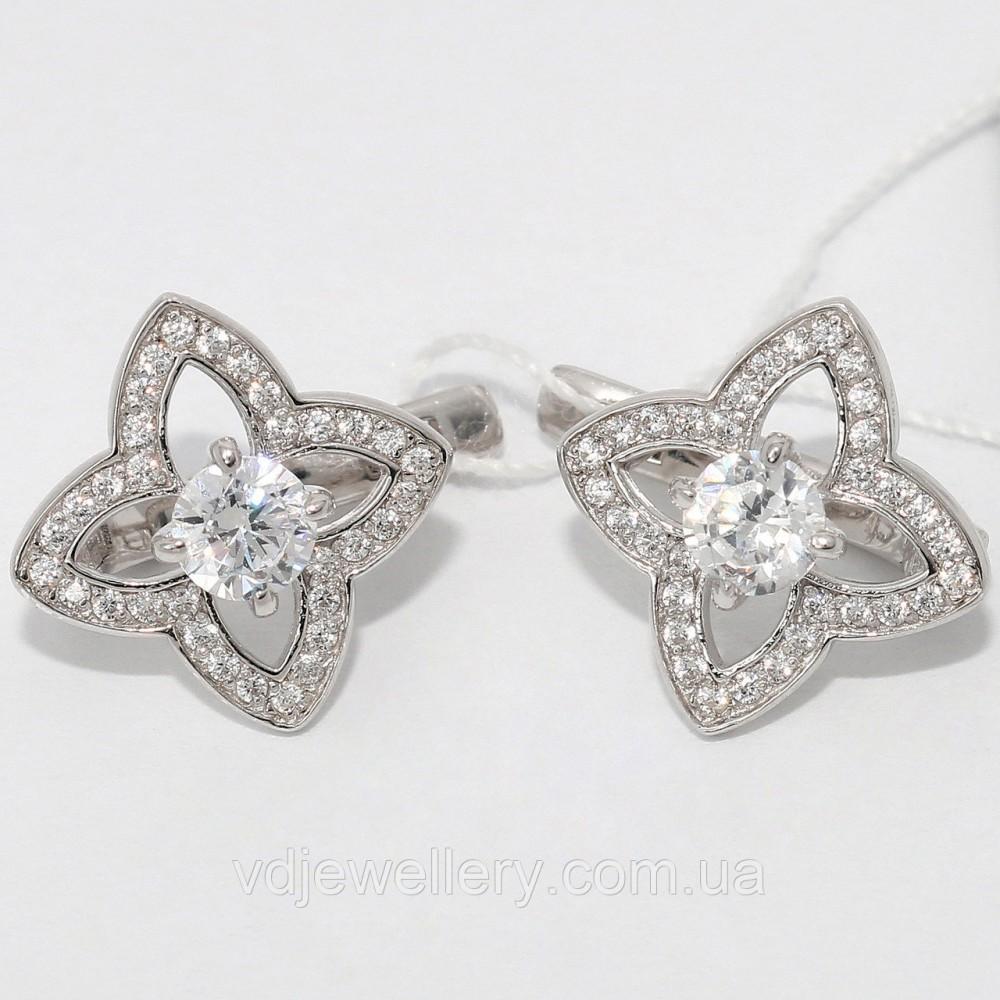 Серебряные серьги СЖХ-44