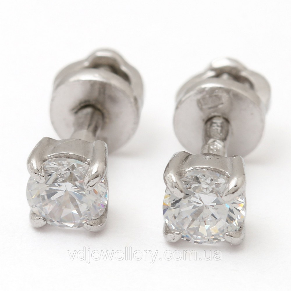 Серебряные серьги СЖХ-57