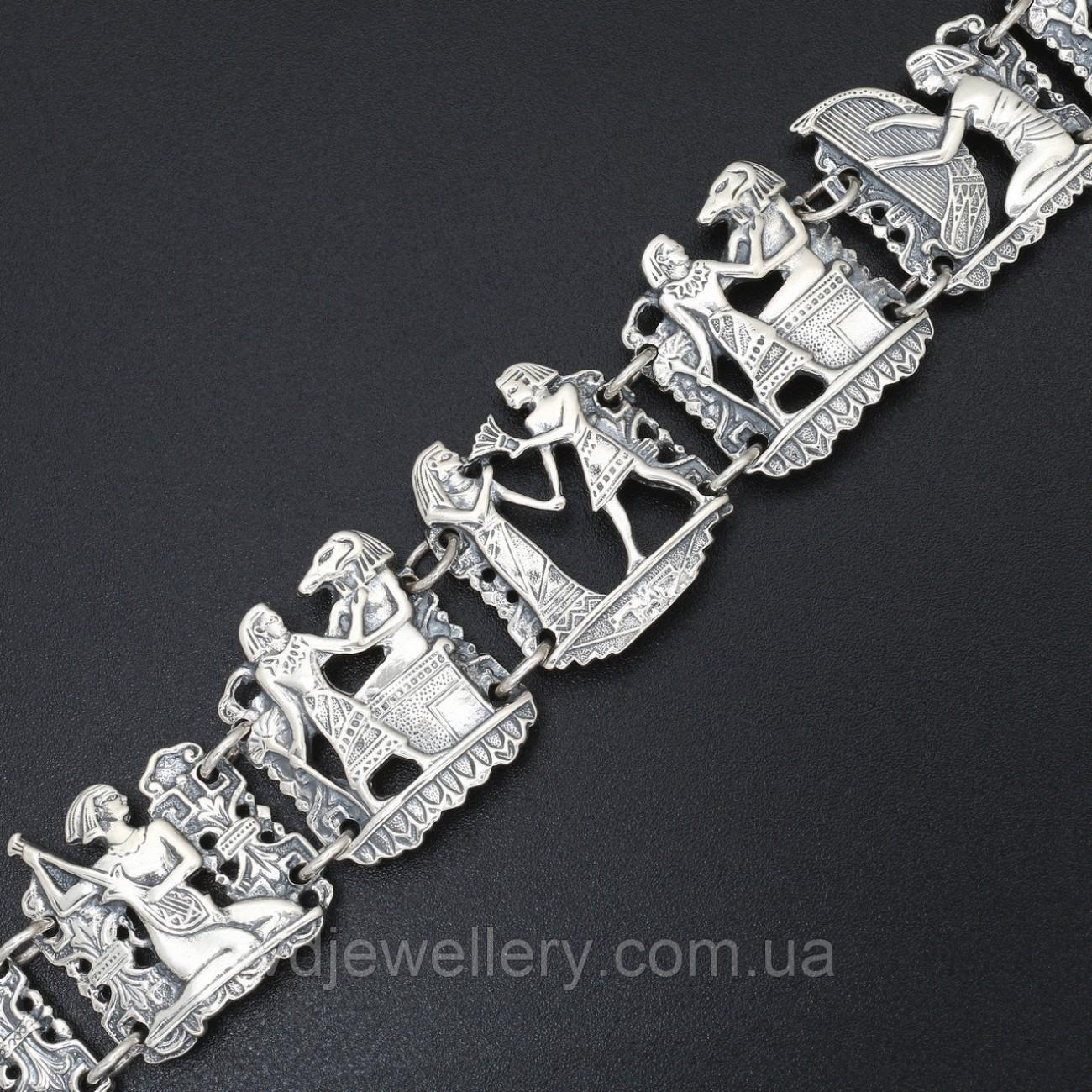 Женский серебряный браслет 78ЦФ