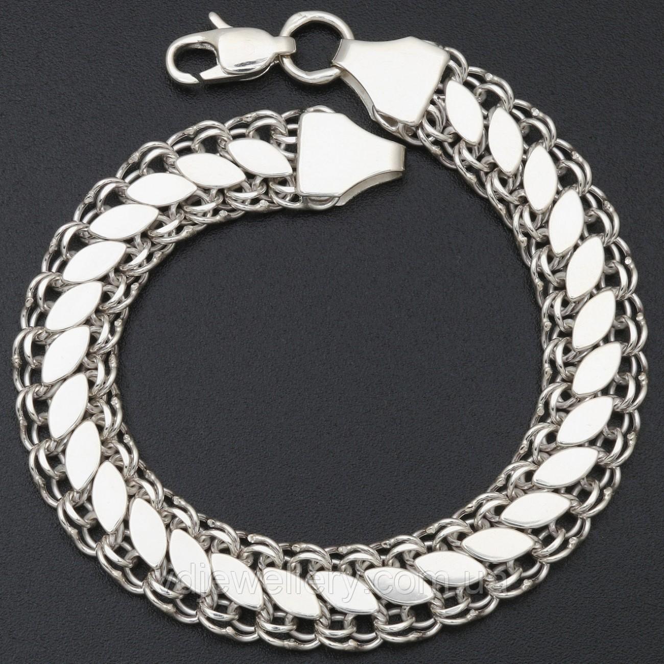 Женский серебряный браслет 117ЦФ