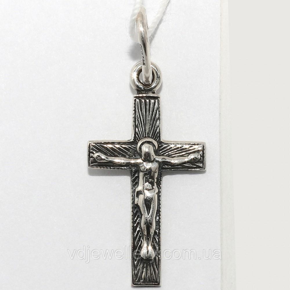 Серебряный крестик 3100015