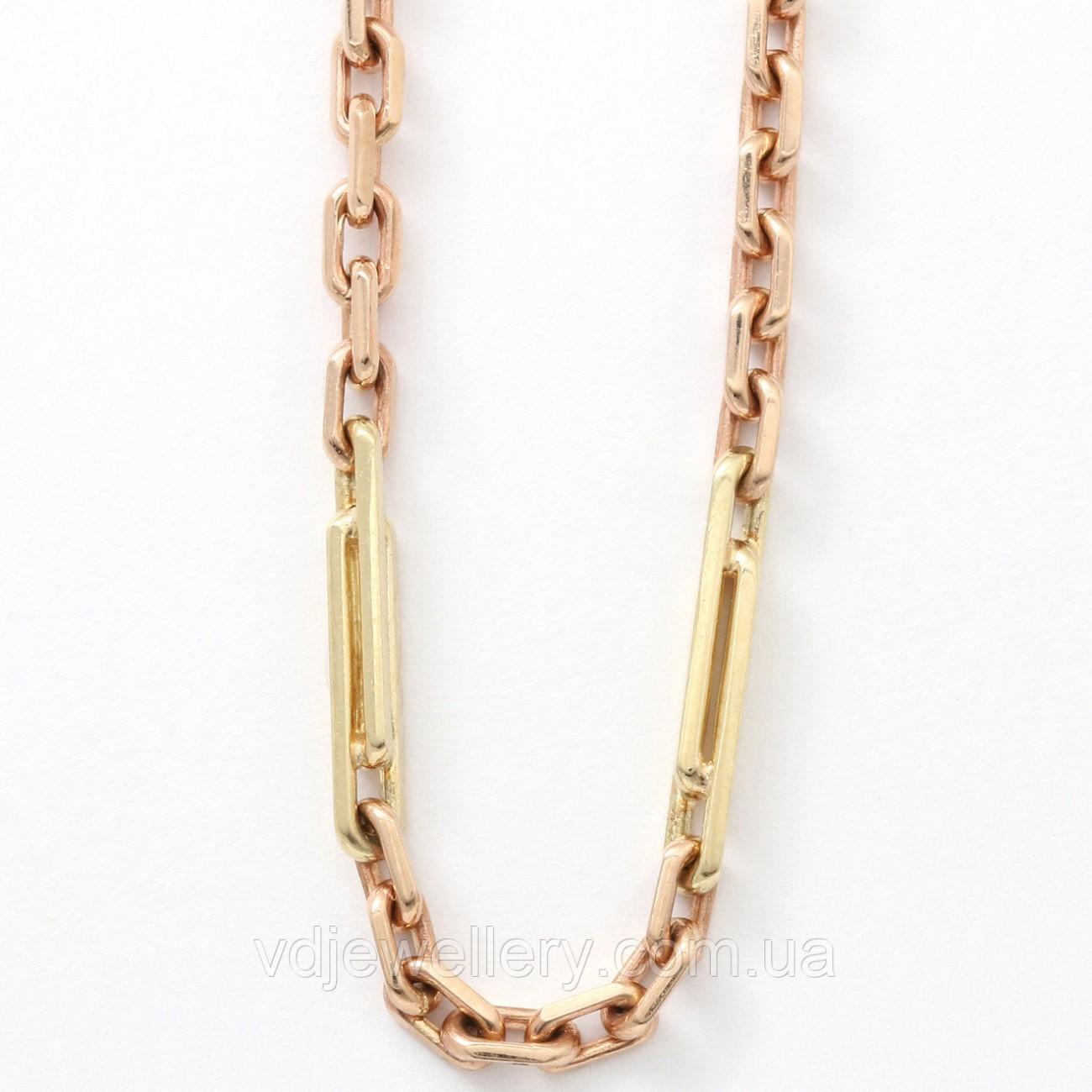 Золотая якорная цепочка 4200033-Я15
