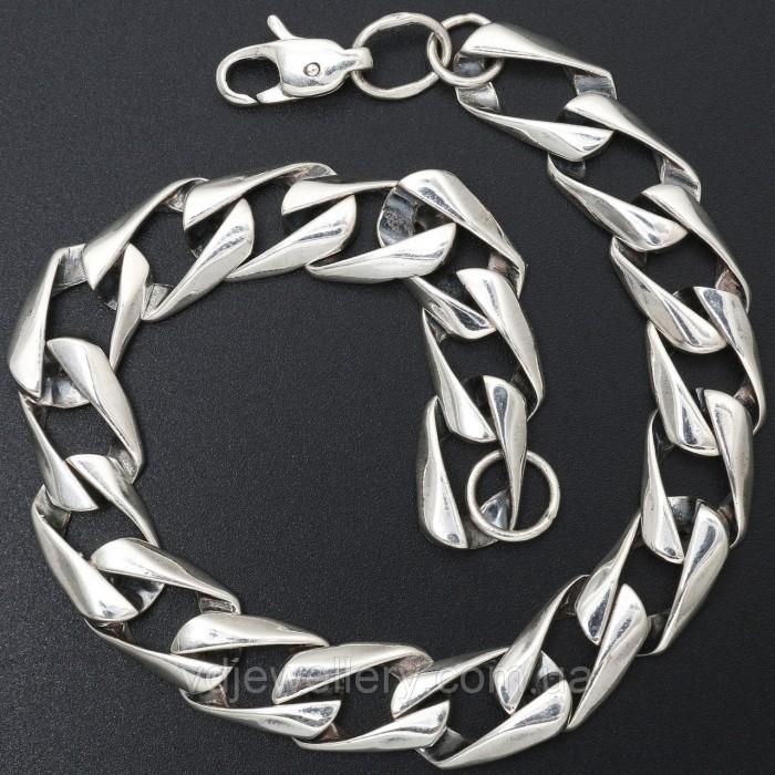 Серебряный браслет 5100259опб