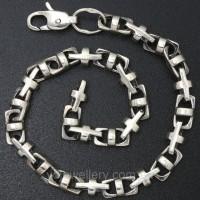 Мужской серебряный браслет 5100259бвб
