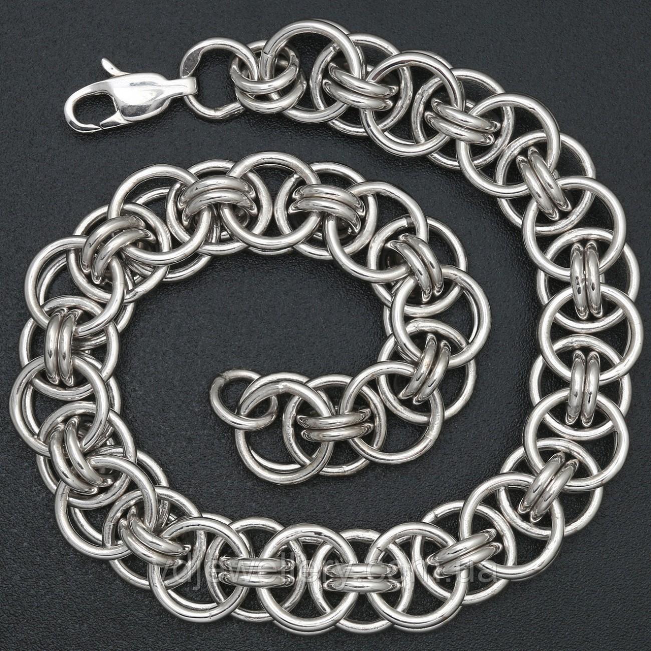 Мужской серебряный браслет 5100069-Н30