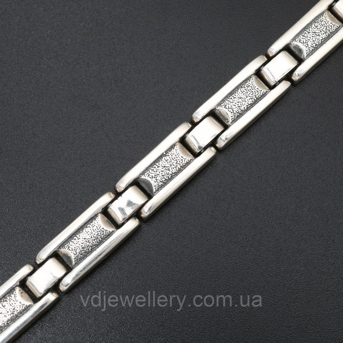 Мужской серебряный браслет 5100047