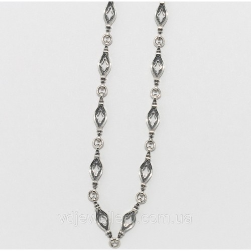 Серебряная церковная цепочка ЕХМ-24
