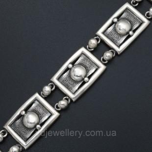 Мужской серебряный браслет 5100062