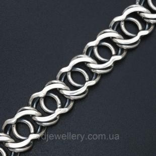 Мужской серебряный браслет 5100069-А30