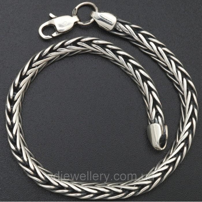 Мужской серебряный браслет 5100069лб