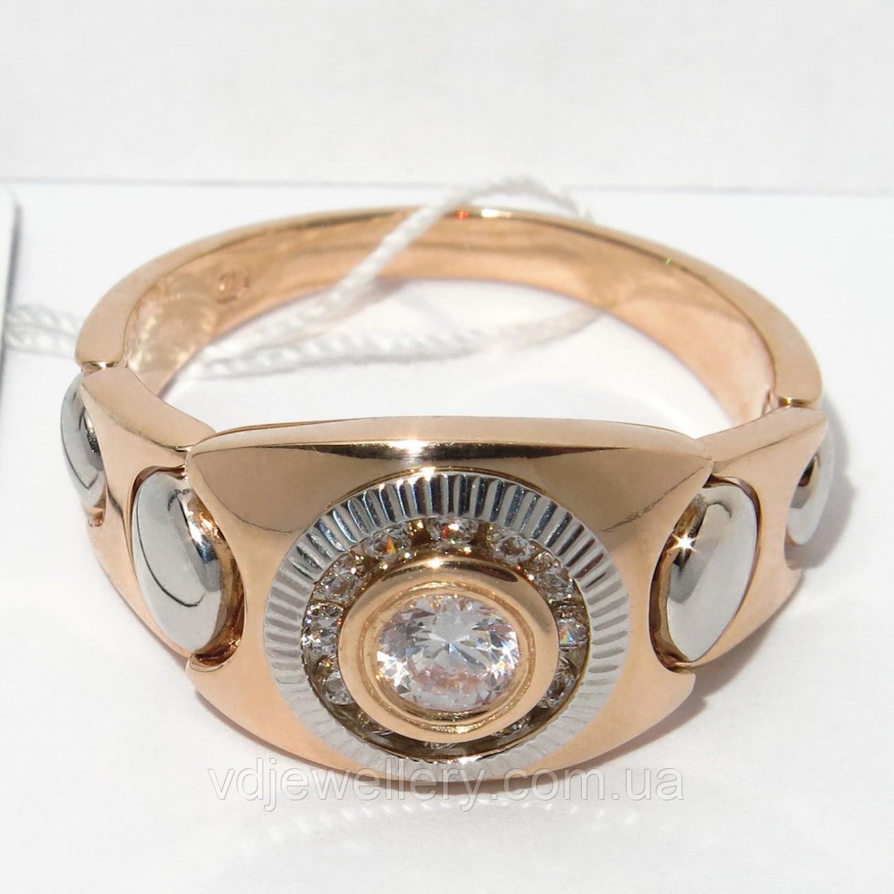 Мужское золотое кольцо КМХ-49