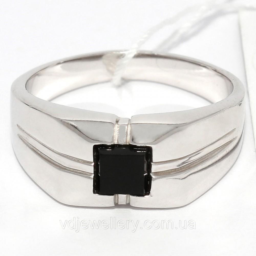 Мужское серебряное кольцо КМХ14