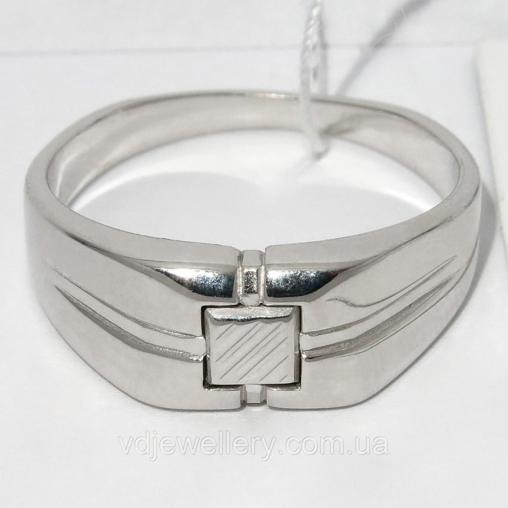 Мужское серебряное кольцо КМХ20