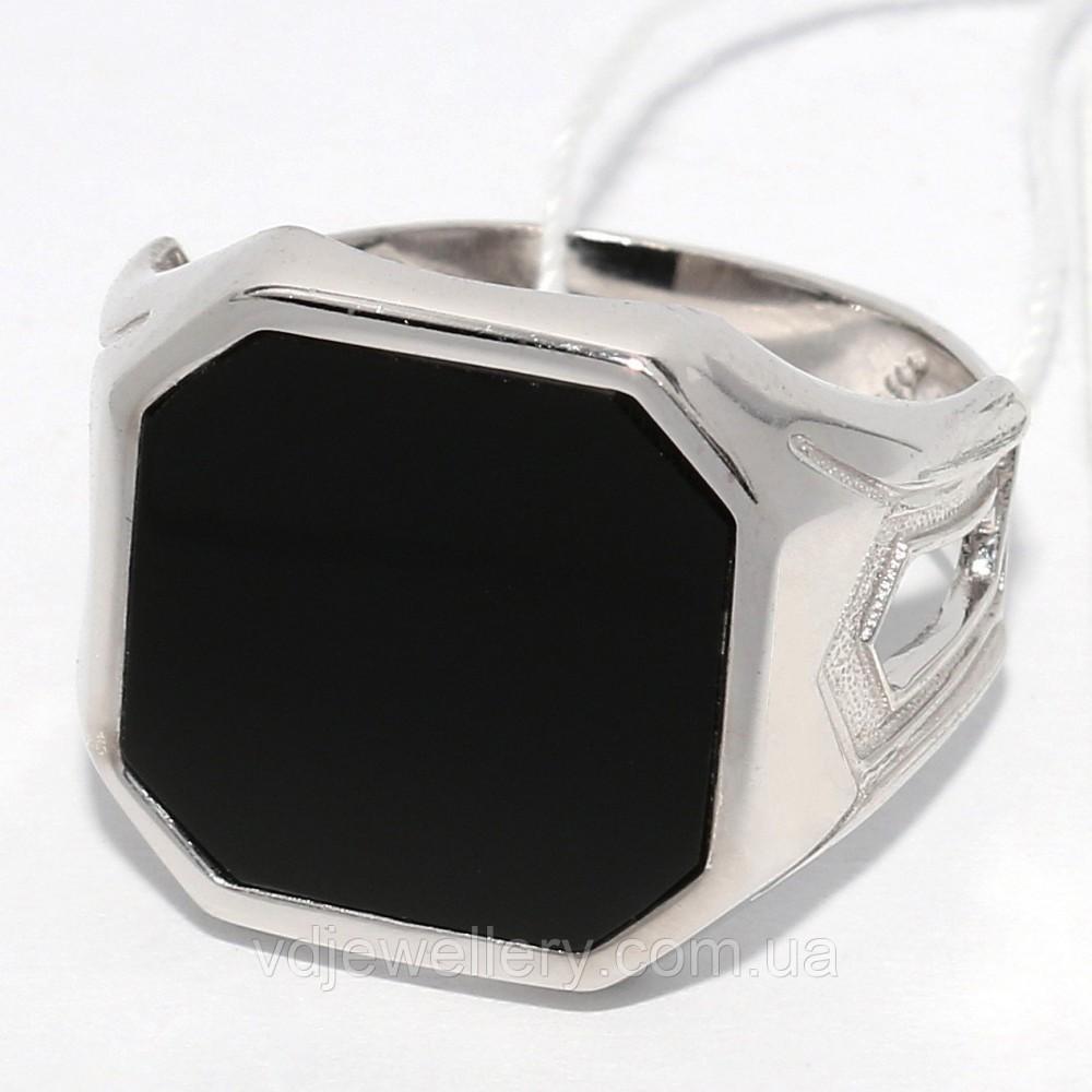 Мужское серебряное кольцо КМХ15