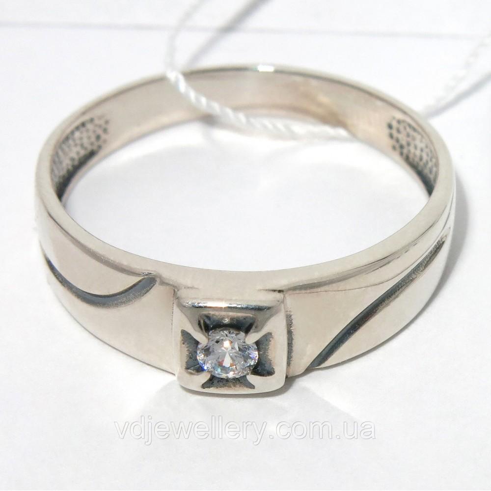 Мужское серебряное кольцо КМХ-42