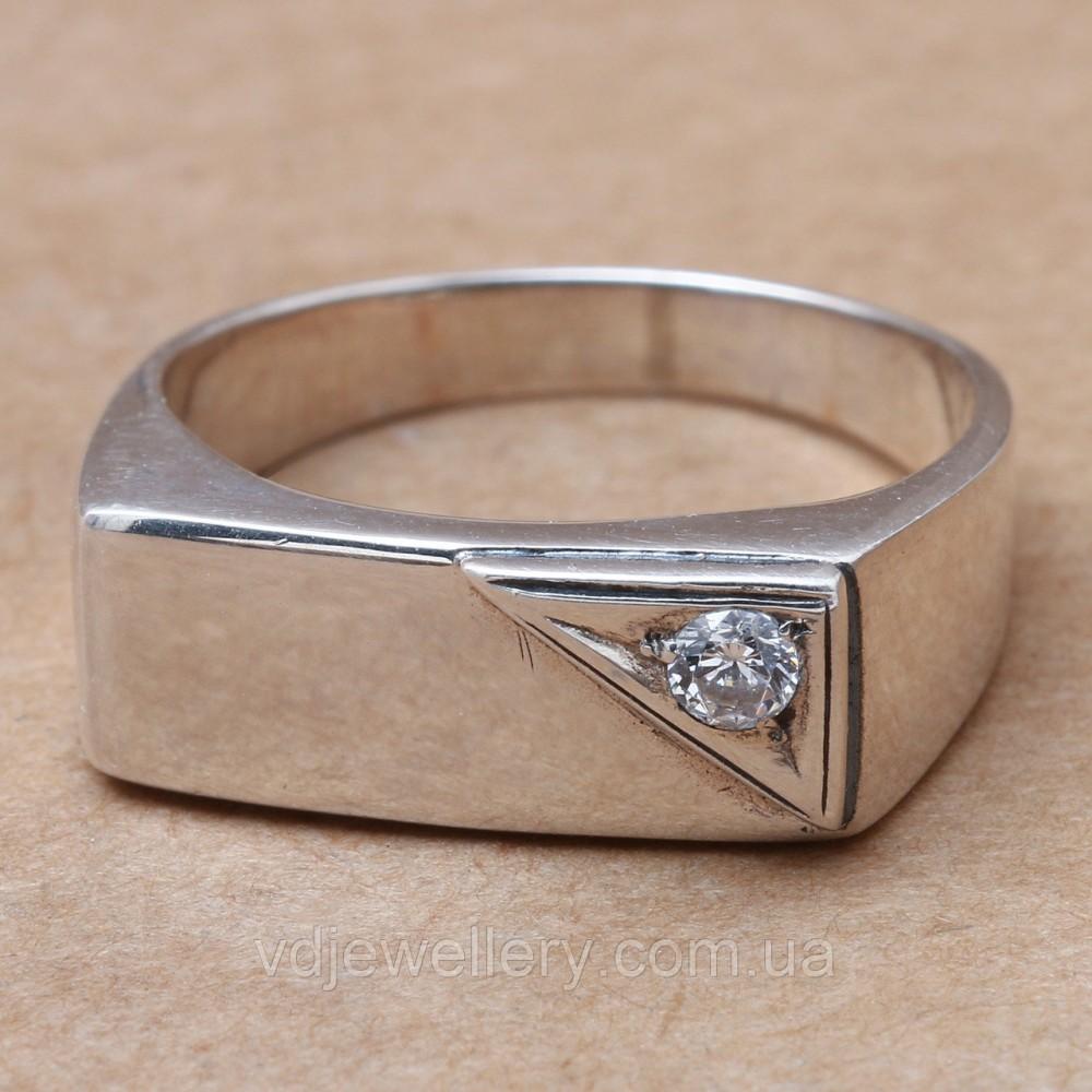 Мужское серебряное кольцо 2110172