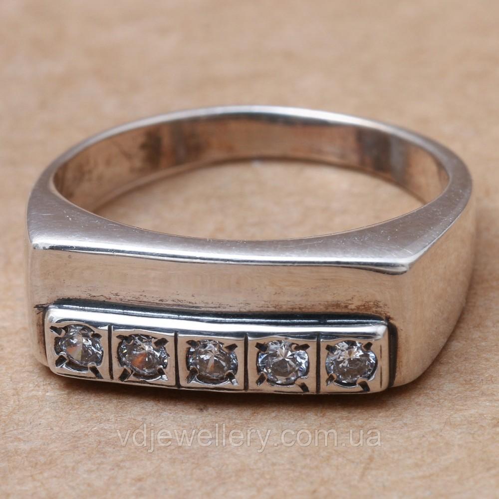 Мужское серебряное кольцо 2110173