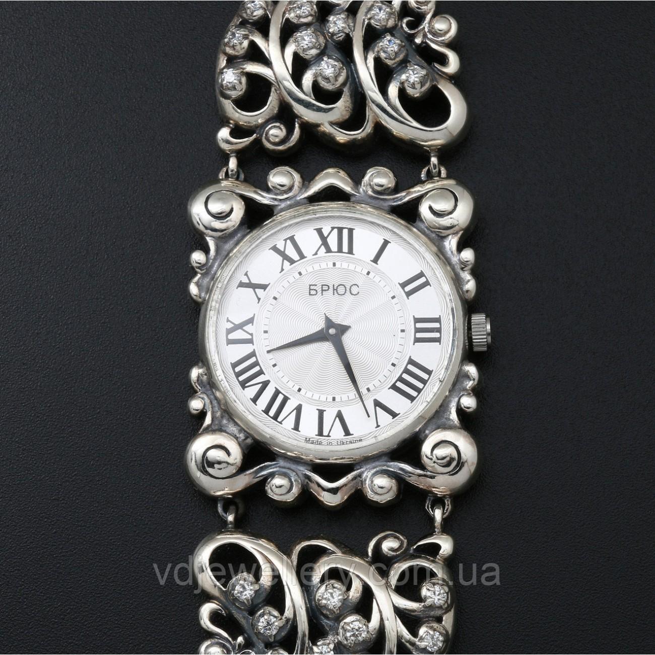 Женские серебряные часы 0530