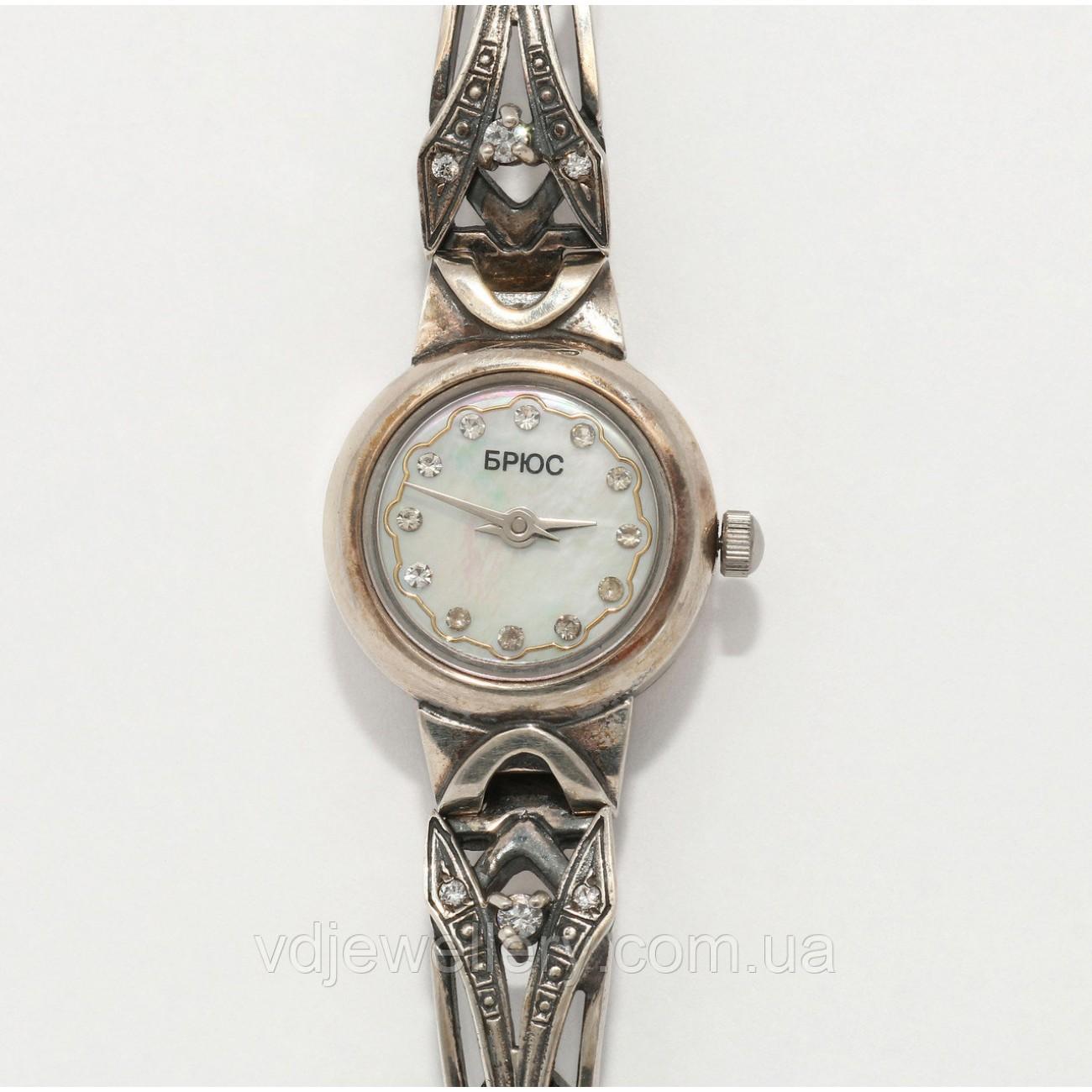 Женские серебряные часы 0538