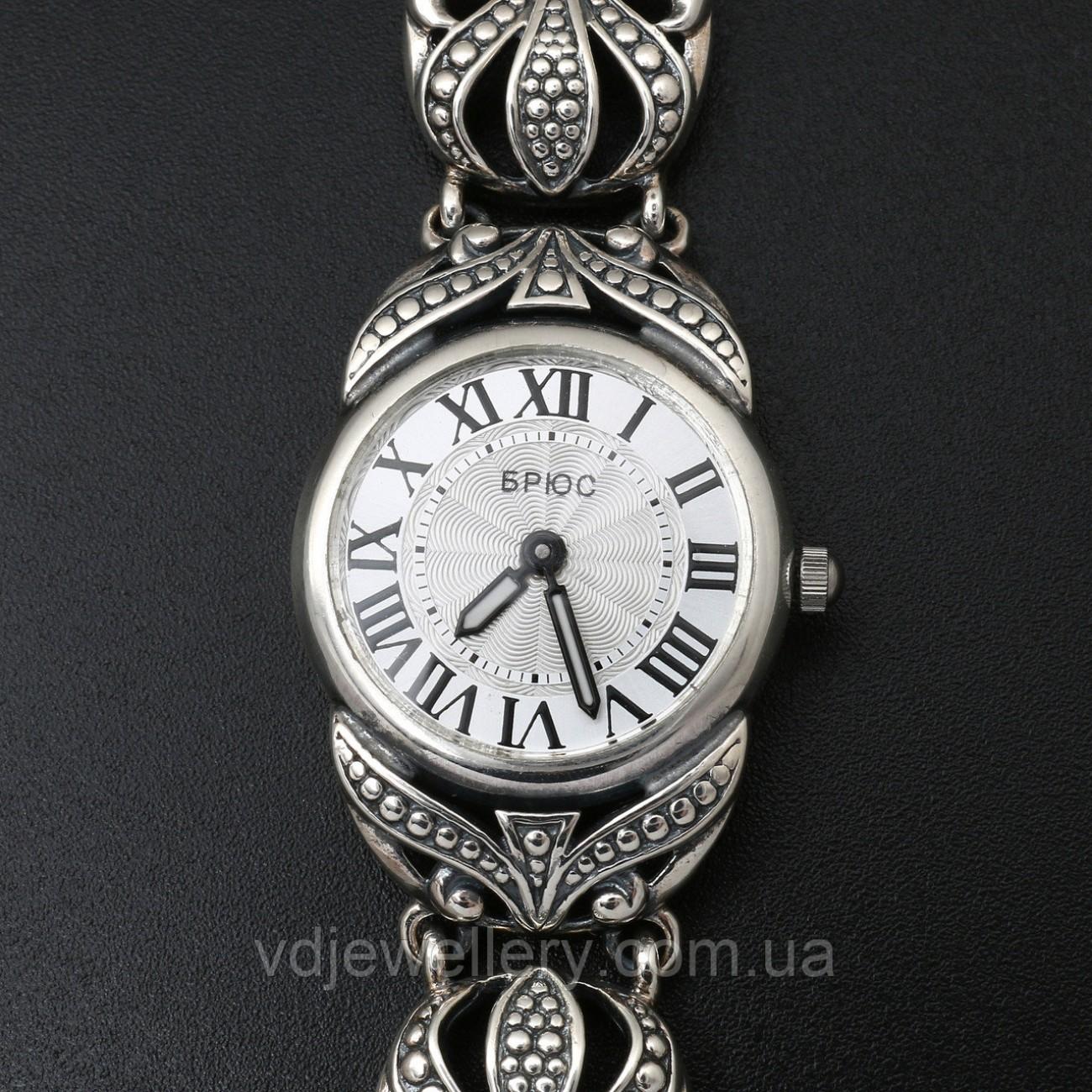 Женские серебряные часы 0533