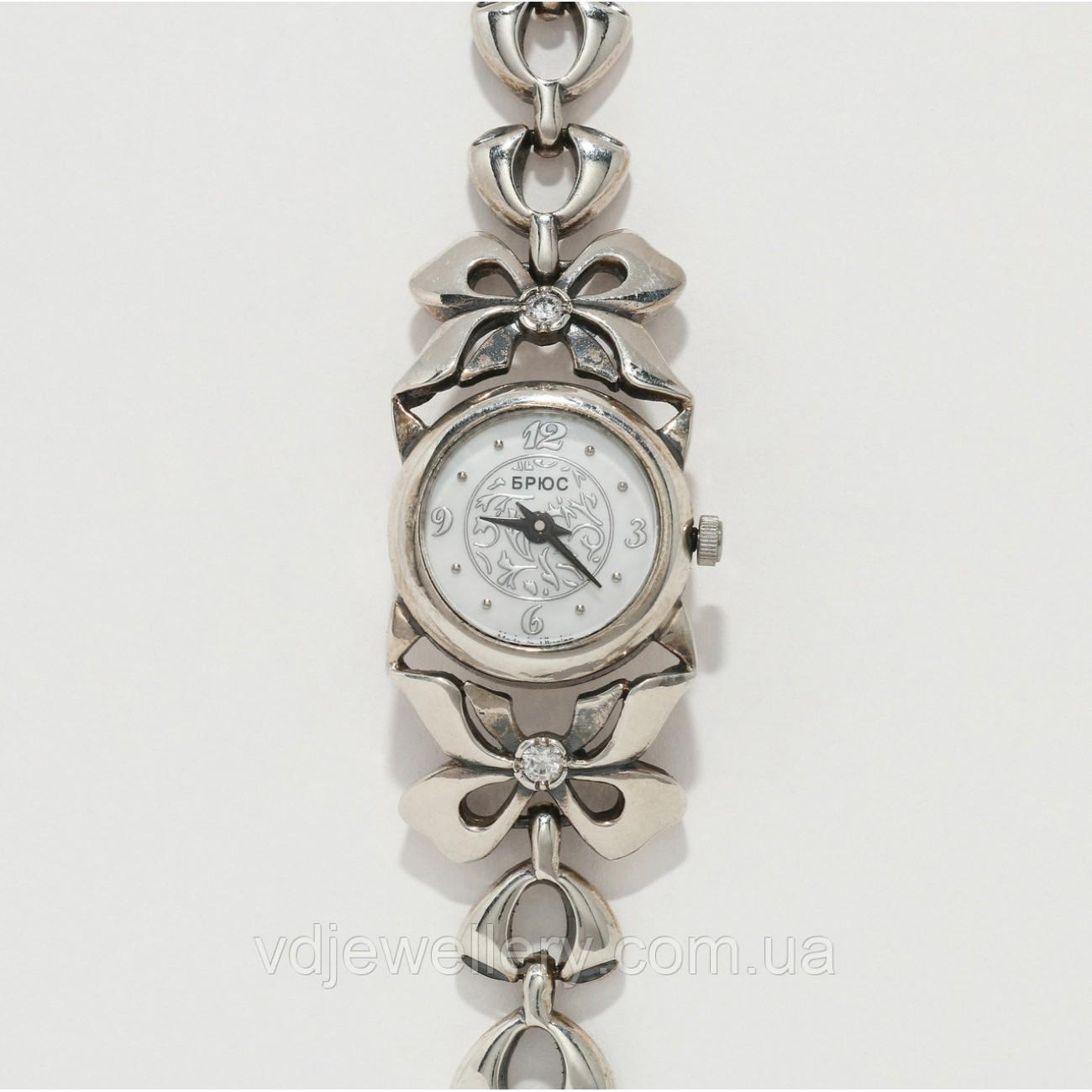 Женские серебряные часы 0535